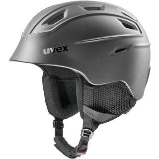 uvex fierce, black mat - Skihelm