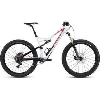 Specialized Stumpjumper FSR Comp Carbon 6Fattie 2016, white/black/red - Mountainbike