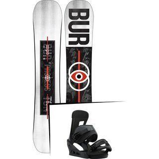 Set: Burton Process Flying V Wide 2019 + Burton Freestyle black matte