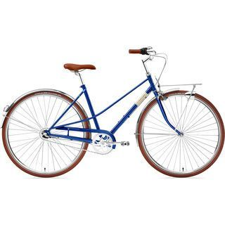 Creme Cycles Caferacer Lady Solo 2019, classic blue - Cityrad