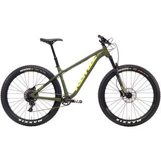 Kona Big Honzo DL 2018, olive/charcoal/yellow - Mountainbike