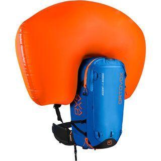 Ortovox Ascent 40 Avabag Kit, ohne Kartusche, safety blue - Lawinenrucksack