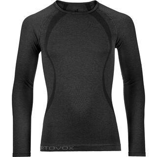 Ortovox Merino 140 Long Sleeve, black steel - Unterhemd