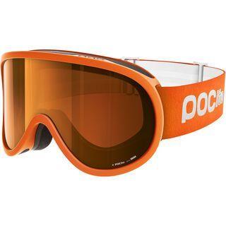 POC POCito Retina, fluo orange/Lens: spektris orange - Skibrille