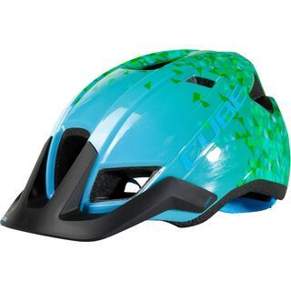 Cube Helm CMPT Youth, green triangle - Fahrradhelm