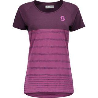 Scott Trail 60 DRI S/SL Women's Shirt, deep purple/orchid violet - Radtrikot