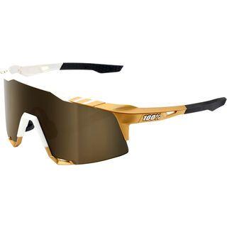 100% Speedcraft Tall Peter Sagan LTD - Gold Mirror weiß/gold