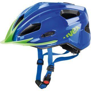 uvex Quatro Junior, blue-green - Fahrradhelm