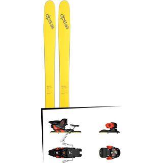 DPS Skis Set: Wailer 112 RP2 Pure3 2016 + Salomon Warden MNC 13