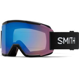 Smith Squad inkl. WS, black/Lens: cp storm rose flash - Skibrille