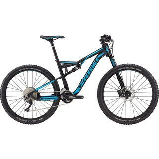 Cannondale Habit 4 2017, black/ultra blue - Mountainbike