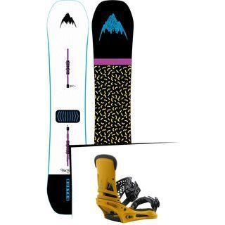 Set: Burton Free Thinker Wide 2019 + Burton Malavita colonel mustard