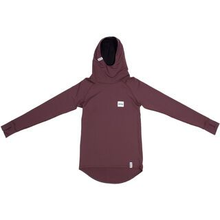 Eivy Icecold Winter Hood Top, wine - Unterhemd