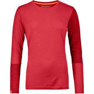 Ortovox 185 Merino Rock'n'Wool Long Sleeve W, hot coral - Unterhemd