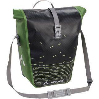 Vaude Aqua Back Print Single, black/green - Fahrradtasche