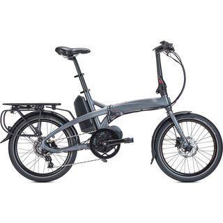 Tern Vektron D7i 2019, matte gunmetal/silver - E-Bike