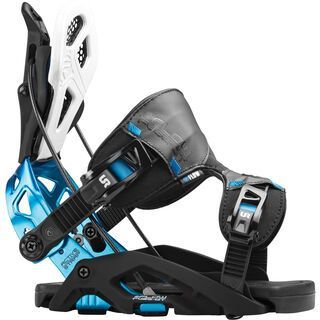 Flow Fuse-GT 2016, black/blue - Snowboardbindung