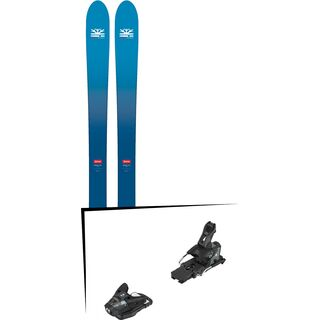 Set: DPS Skis Wailer F106 Foundation 2018 + Salomon STH2 WTR 13 black/dark grey