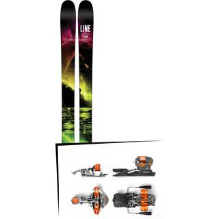 Set: Line Supernatural 108 2016 + G3 Ion 10 115 mm 2017 - Skiset