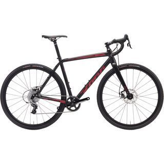 Kona *** 2. Wahl *** Private Jake 2017 | Größe 57 cm, black/red - Crossrad