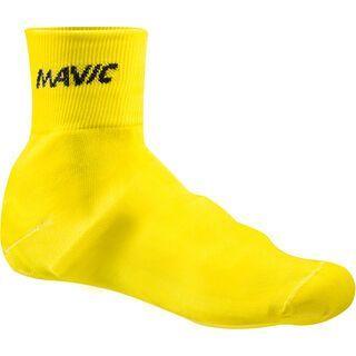 Mavic Knit Shoe Cover, yellow - berschuhe