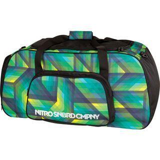 Nitro Duffle Bag XL, geo green - Sporttasche