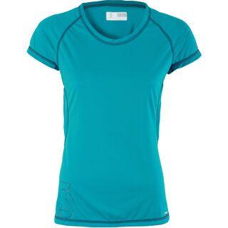 Scott Womens Trail MTN 10 s/sl Shirt, ocean blue - Radtrikot