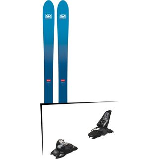 Set: DPS Skis Wailer F106 Foundation 2018 + Marker Squire 11 ID black
