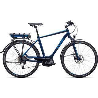 Cube Touring Hybrid 400 2017, blue´n´blue - E-Bike