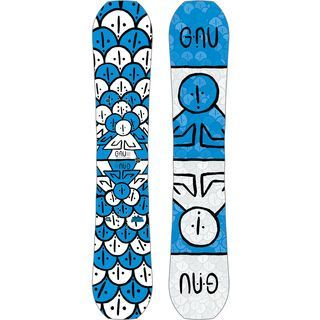 Gnu Head Space Wide (B-Ware/2nd) 2019 - Snowboard