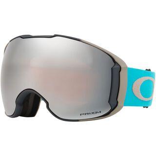 Oakley Airbrake XL Prizm inkl. Wechselscheibe, sea moon rock/Lens: prizm black iridium - Skibrille