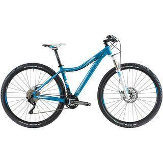 Cube Access WLS SL 29 2014, blue/white - Mountainbike