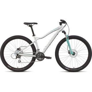 Specialized Jynx Sport 650b 2015, Gloss Dirty White/Emerald/Shadow Silver - Mountainbike
