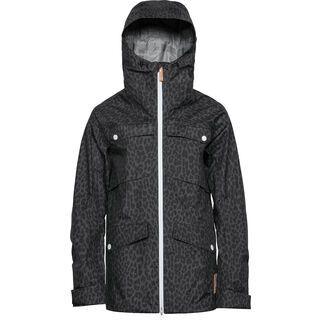 WearColour Lynx Jacket, black leo - Skijacke