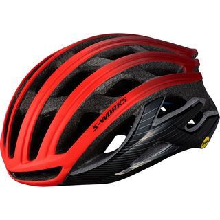 Specialized S-Works Prevail II ANGi MIPS, rocket red/crimson/black - Fahrradhelm