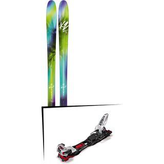 Set: K2 SKI FulLUVit 95Ti 2018 + Marker Baron EPF 13 black/white/red