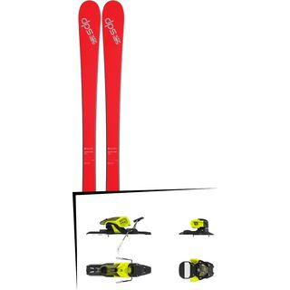Set: DPS Skis Cassiar 80 SL 2017 + Salomon Warden 11 (1706223)