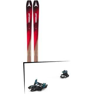 Set: Atomic Backland 78 2018 + Marker Alpinist 9 black/turquoise