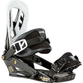 Nitro Pusher 2016, black - Snowboardbindung