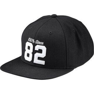 100% Since 82 Snapback Hat, black - Cap