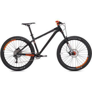 NS Bikes Eccentric Djambo 2 2017, dark raw/fluo orange - Mountainbike