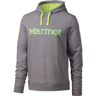 Marmot Marmot Hoody, steel - Hoody