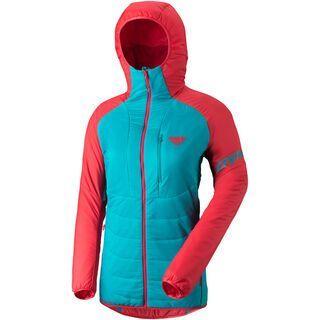 Dynafit Radical 2 Primaloft Women Hooded Jacket, hibiscus - Thermojacke