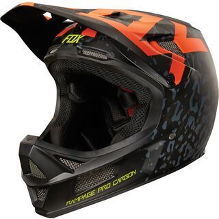 Fox Rampage Pro Carbon Cauz Helmet, orange - Fahrradhelm