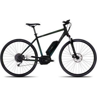 Ghost Andasol Cross 7 2016, black/green/blue - E-Bike