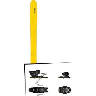 DPS Skis Set: Wailer 112 RP2 Hybrid 2016 + Salomon Warden MNC 13