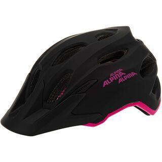 Alpina Carapax Junior, black pink - Fahrradhelm
