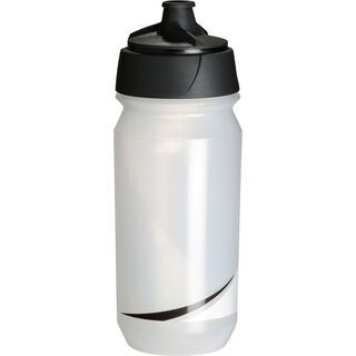 Tacx Shanti Twist, transparent schwarz - Trinkflasche