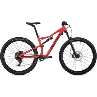 Specialized Women's Camber Comp 650b 2018, red/limon/black - Mountainbike