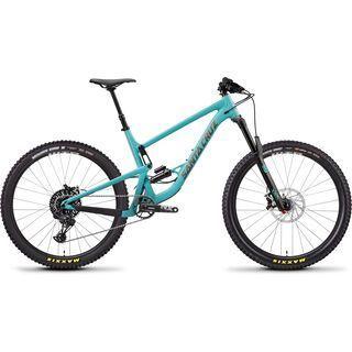 Santa Cruz Bronson AL R 2019, blue/gold - Mountainbike